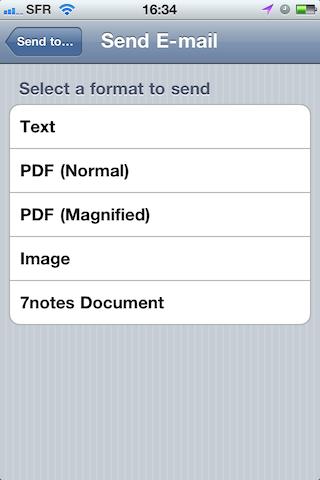 Test7notes022 Test de 7notes et 7Notes Premium   Prendre des notes imagées sur iPhone et iPad