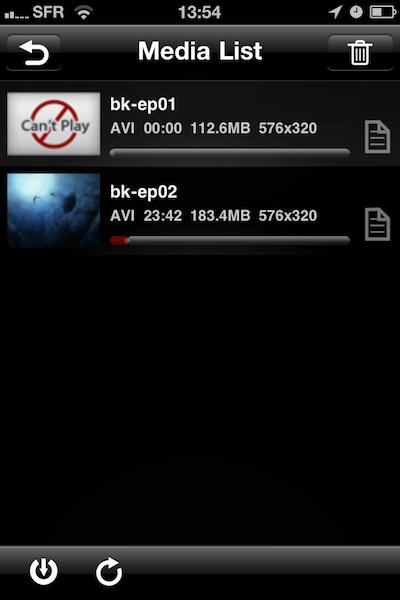 TestAnyPlayer008 Test de AnyPlayer   un autre lecteur multimédia pour iPhone