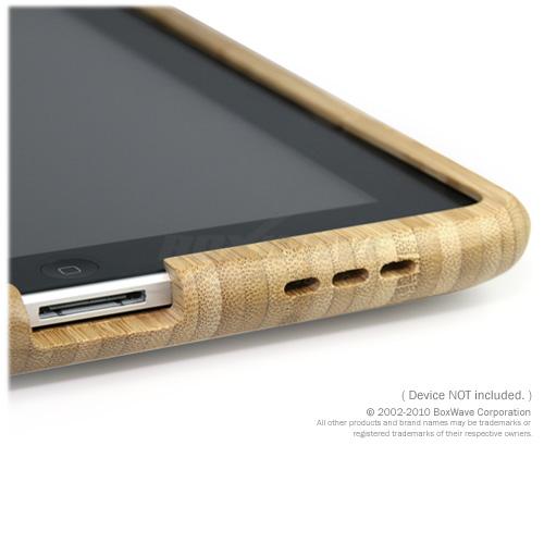 Bamboo Case vue ouverture son