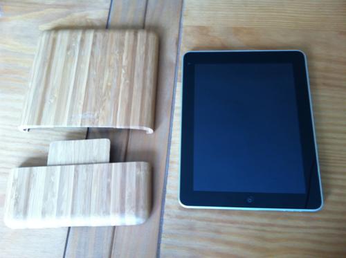 TestBambiPad010 Test de la BoxWave Bamboo Case pour iPad 1 et iPad 2