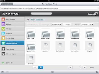 TestGoFlexSatellite024 Test du GoFlex Satellite   Un disque dur wifi pour iPhone et iPad