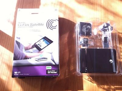 TestGoFlexSatellite046 Test du GoFlex Satellite   Un disque dur wifi pour iPhone et iPad