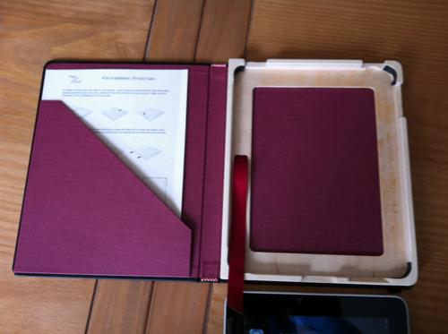 TestTheCasePQ001 Test de The Case de Pad & Quill pour iPad (42€)