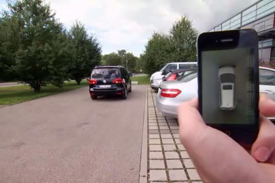 Valeo Park4U Automatic Parking System 04 [Insolite] Garer sa voiture avec son iPhone sera bientôt possible