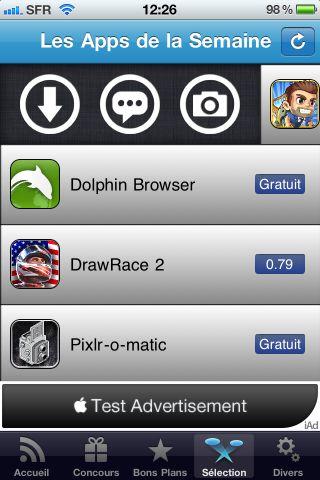 app semaine App4Phone version 2.0 : À la découverte de App Semaine