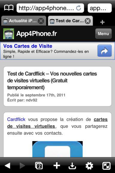 atomic web Quel est le meilleur navigateur web pour votre iPhone ?