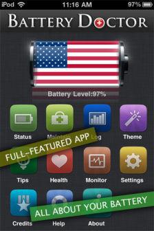 battery doctor pro [MÀJ] Les bons plans de lApp Store ce jeudi 15 septembre 2011