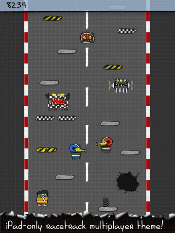 doodle jump hd 1 Doodle Jump enfin sur liPad !