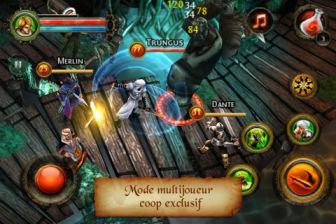 dungeon hunter 2 Gameloft Fête la rentrée : Des jeux de qualité en promotion à 0,79€