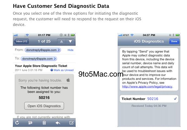 email Apple : Un service de diagnostic en ligne pour les appareils iOS en préparation