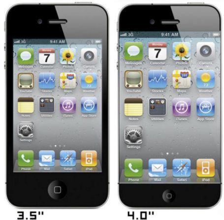 iPhone 5ecran [Dossier] Un résumé de toutes les nouveautés possibles pour liPhone 5 !