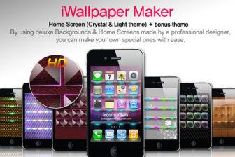 iWallpaper maker Les bons plans de lApp Store ce jeudi 22 septembre 2011