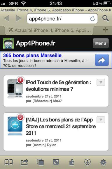 icab Quel est le meilleur navigateur web pour votre iPhone ?