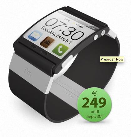 im watch 3 im Watch   La montre intelligente connectée à votre iPhone !