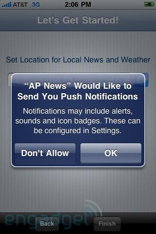 iphone push notification App4Phone 2.0 : À la découverte des nouvelles notifications Push