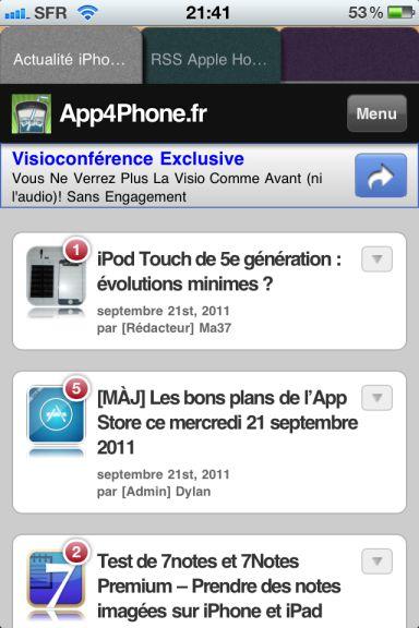 knowtilus Quel est le meilleur navigateur web pour votre iPhone ?