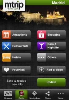 madrid mtrip Les bons plans de lApp Store ce mercredi 7 septembre 2011