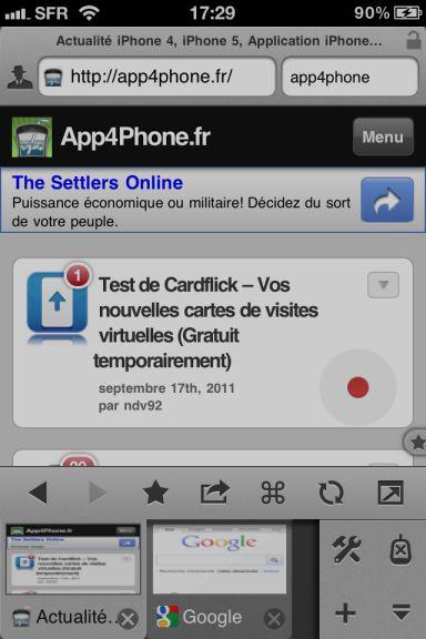 maven Quel est le meilleur navigateur web pour votre iPhone ?