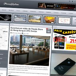 miniature iphone3gsystem IPhAccess   Lapplication pour ne rien manquer de lactualité iPhone et Jailbreak