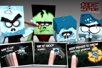 paper zombie [Màj] Les bons plans de lApp Store ce mercredi 14 septembre 2011 (Bonnes Apps)