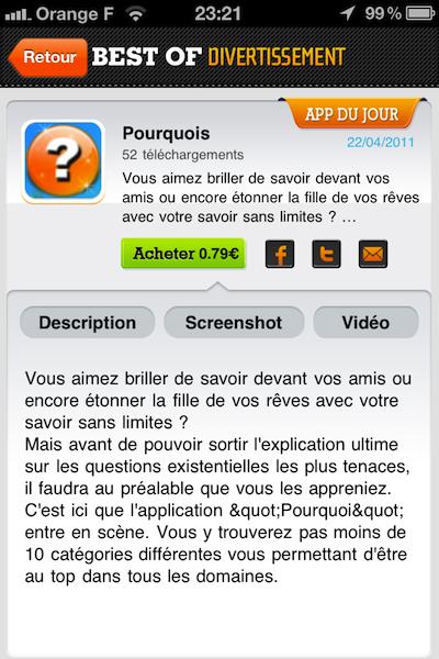 photo 2 Best Of Divertissement (gratuit) : une application qui opte pour le meilleur de lamusement !