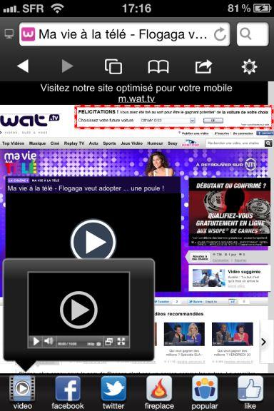 skyfire Quel est le meilleur navigateur web pour votre iPhone ?