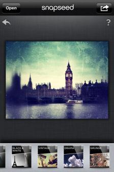 snapseed Les bons plans de lApp Store ce vendredi 23 septembre 2011