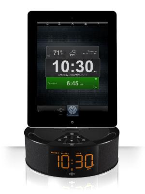 tc 300x400 slide2 TimeCommand   Une station daccueil élégante pour iPhone et iPad (72€)