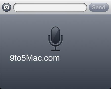 test nuance iOS5 2 La reconnaissance vocale sera bien présente dans la version finale diOS5