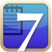 test7notesicon Test de 7notes et 7Notes Premium   Prendre des notes imagées sur iPhone et iPad