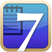 test7notesicon Test de 7notes et 7Notes Premium   Prendre des notes imagées sur iPhone et iPad