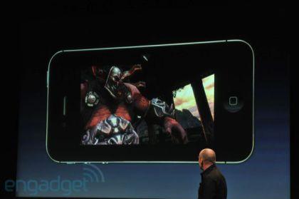 A5 Rendu graphique Apple présente liPhone 4S   Un iPhone 4 amélioré... mais qui ne vaut pas un iPhone 5 !