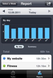Capture d'écran32 207x300 Test de Time Mate : Gestionnaire de temps et de projets sur iPhone !