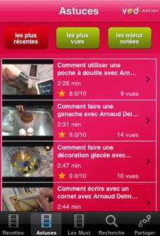 Capture36 Lapplication gratuite du jour : Pâtisserie Pocket