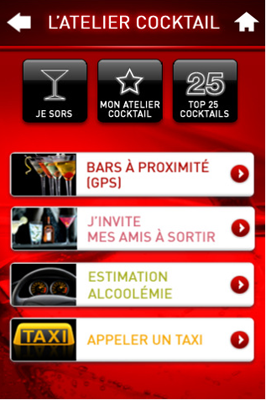 Capture56 Test de l'Atelier Cocktail : une application pour devenir un excellent barman (gratuit)