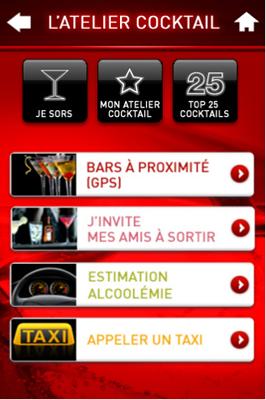 Capture56 Test de l'Atelier Cocktail : une application pour devenir un excellent barman (gratuit)