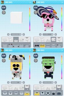 Cube talking 3D Les bons plans de lApp Store ce lundi 24 octobre 2011