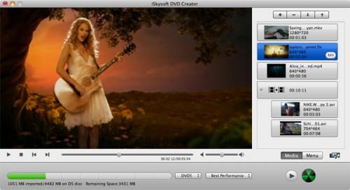DVD creator mac 1 500x272 iSkysoft offre gratuitement DVD Creator pour Mac OSX et Windows à loccasion dhalloween