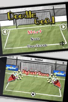 Doodle goal Les bons plans de lApp Store ce mardi 11 octobre 2011