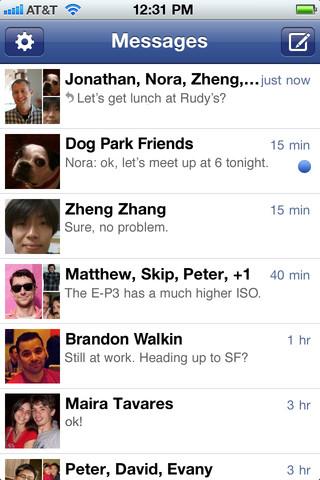 Faceboook messenger Facebook Messenger arrive en France ! (gratuit)