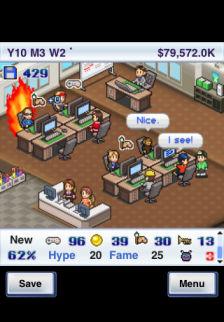 Game dev story Les bons plans de lApp Store ce samedi 22 octobre 2011
