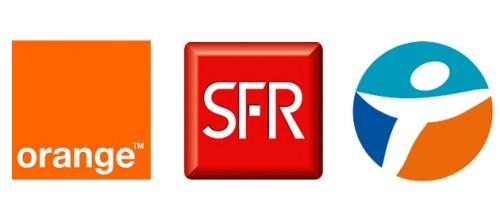 Groupe operateurs 500x217 [Dossier Comparatif] Quel opérateur parmi Orange, SFR, Bouygues, Virgin Mobile propose liPhone 4S le moins cher ?