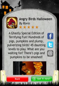 Halloween 13 apps 2 Les bons plans de lApp Store ce dimanche 23 octobre 2011