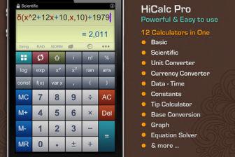HiCalc Pro Les bons plans de lApp Store ce mercredi 18 avril 2012