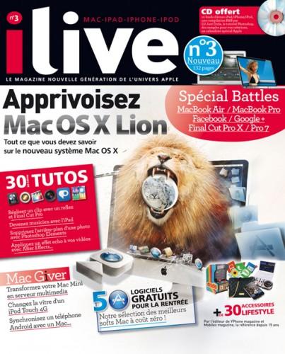 ILIVE03 403x500 Concours : 3 exemplaires du magazine iLiveMag n°3 et 1 an abonnement à gagner !