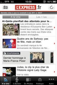 Lexpress Les bons plans de lappstore ce jeudi 27 octobre 2011