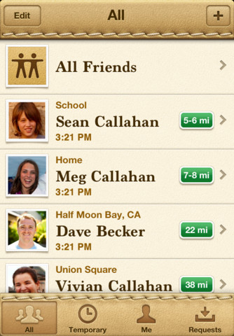 Localiser mes amis 2 nouvelles applications Apple pour iOS5 : AirPort Utility et Localiser mes amis