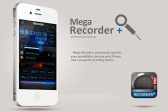 Mega recorder pro Les bons plans de lApp Store ce vendredi 21 octobre 2011
