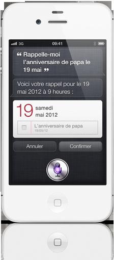 Siri1 Tout savoir sur lassistant vocal Siri : la nouveauté de liPhone 4S !