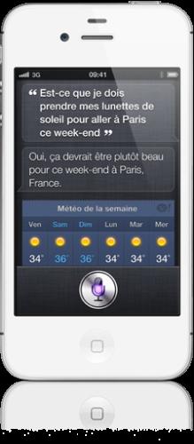 Siri3 219x500 Lassistant vocal siri sera réservé à liPhone 4S !